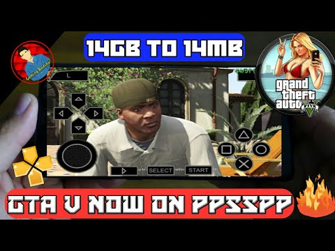 gta 5 ppsspp android gameplay