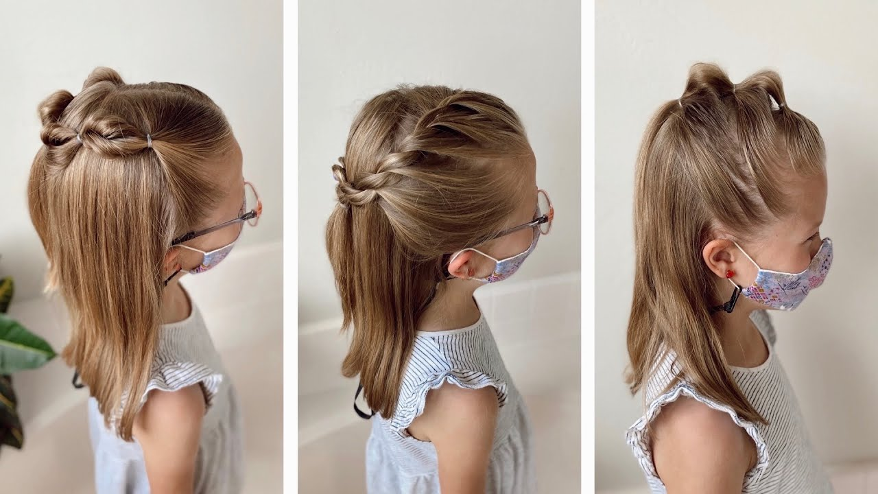 5 Minute Back to School Mask Friendly Hairstyles | Q's Hairdos