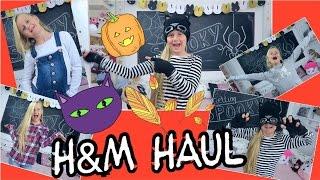 H&M HERBST HAUL mit 👻Halloween Touch 🎃 Coole Mädchen Zöpfe & Frisuren