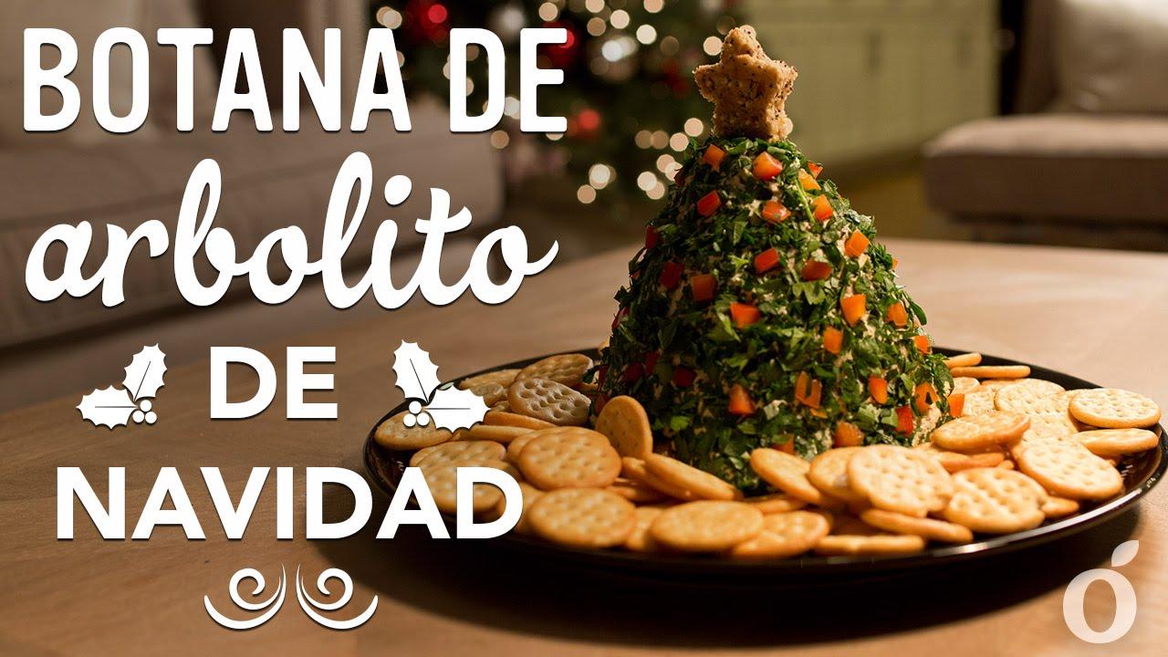 Botana rbol de navidad appetizer christmas tree - Centros de mesa navidad 2014 ...