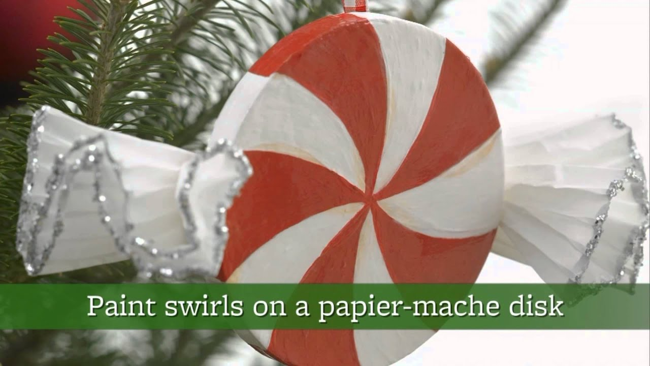 five easy christmas ornaments you can make at home youtube