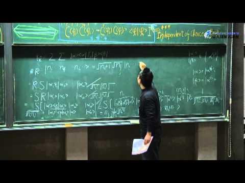 [量子力學] 第11-6講、Symmetric One Particle Operator
