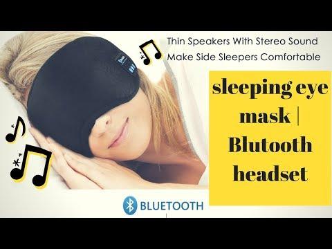 Bluetooth Sleeping Eye Mask | comportable Headphones