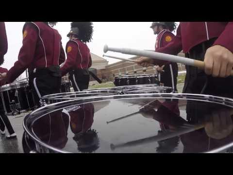 CMU DrumLine March to The Stadium - Tenor