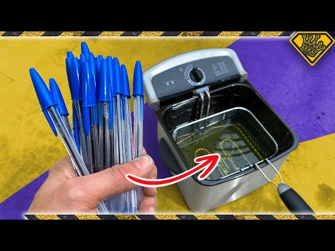 deep-frying-50-pens...-what-could-go-wrong?