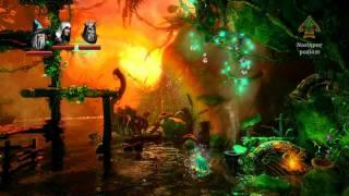 Lets Play (PL) Trine 2 part 4 - Bagno Światłomchu