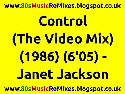 Control (The Video Mix) - Janet Jackson | 80s Club Mixes | 80s Club Music | 80s Dance Music