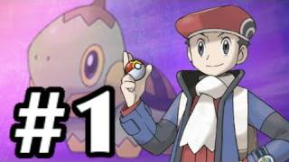 Let's Play Pokemon: Platinum - Part 1 - I choose you!