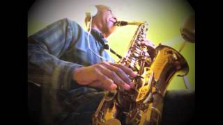 Richard Marx - Hold On To The Nights - (saxophone cover by James E. Green)