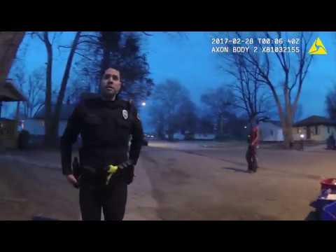Body cam fist fight - Springfield Police officer camera 2