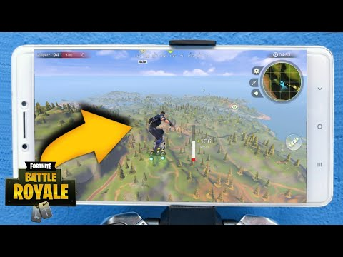 SAIU!! A FANTÁSTICA CÓPIA de FORTNITE para ANDROID na PLAY STORE - PROJECT BATTLE (FORTNITE MOBILE)