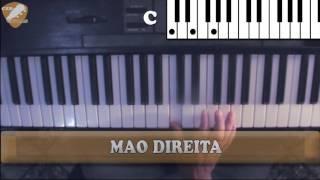 AULA DE TECLADO gospel - Solta o cabo da nau (Harpa Crista 467)