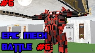 ROBLOX Build Your own Mech Battle #6 : 3ety vs. knlver050211