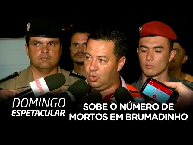 Sobe para 58 o número de mortos em Brumadinho (MG)