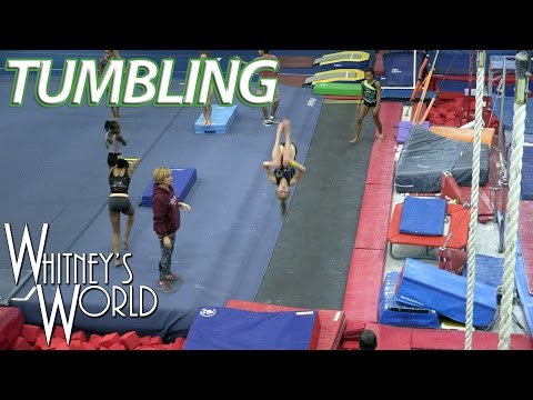 Gymnastics Tumbling | Whitney Bjerken