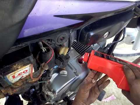 How To Change hero Honda Hf Deluxe Change Engine Oil Mobil