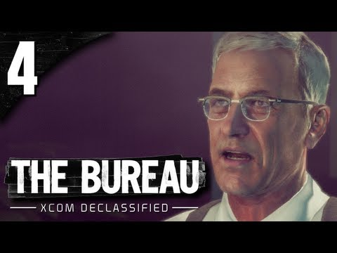 Let's Play The Bureau XCOM Declassified - Part 4 - Meeting the Personnel and Hiring Rookies!!!!!