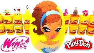 Winx Club Layla Dev Sürpriz Yumurta Oyun Hamuru - Winx Oyuncakları Cicibiciler LPS MLP Hello Kitty