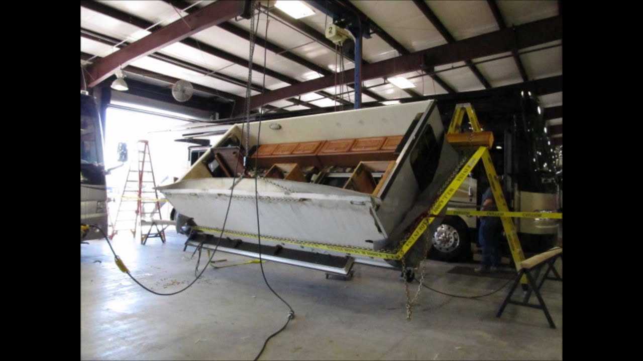 2003 Jayco Fifth Wheel Wiring Diagram Removing Slide Room To Replace Floor Youtube