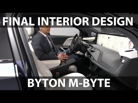 A Chinese Debut at the IAA Frankfurt 2019: Meet the Byton M-Byte EV