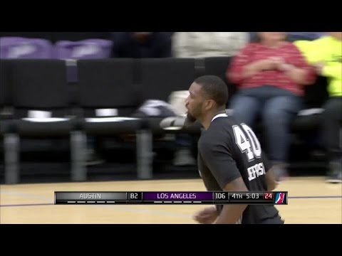 Highlights: Cory Jefferson (22 points)  vs. the D-Fenders, 12/10/2016