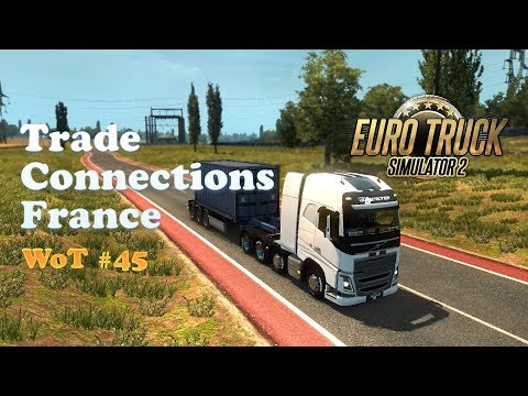 [ETS2] Event: Trade Connections France + From Paris to Malmo