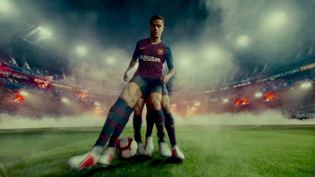 Espectador Pronunciar Inhibir  Nike Ad 'Awaken the Phantom' Has Some Cool Effects ft. Coutinho, Neymar, De  Bruyne, Ronaldinho, Pugh - YouTube