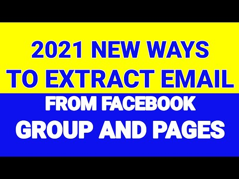 How To Extract Email From Facebook Group | Extract Email From Facebook Group Fast