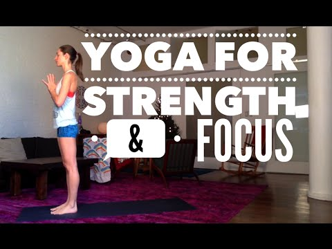 Yoga for Strength and Focus with Tara Stiles