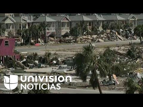 Imágenes aéreas Mexico Beach, Florida