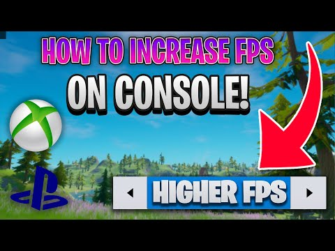 How To INCREASE FPS On CONSOLE In Fortnite Season 3! (FPS Boost On Xbox & PS4!)