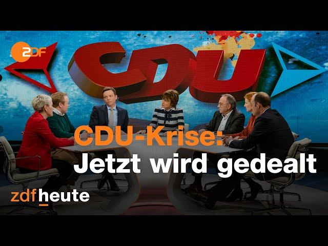 AKK-Rückzug: Jetzt wird gedealt! Die CDU im Richtungsstreit | maybrit illner