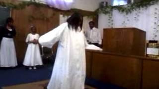 Pastor Hattie Dawson praise dance You are my peace