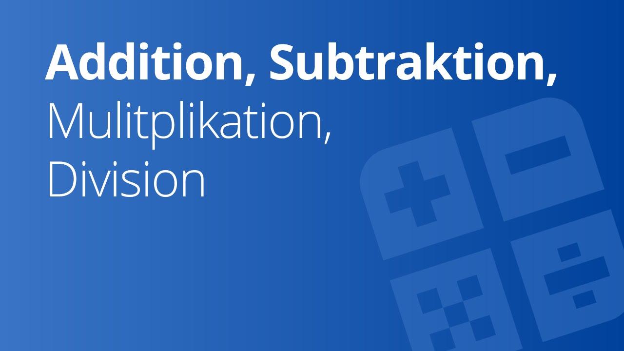 Fantastisch Mathe Test Zusätzlich Subtraktion Multiplikation ...