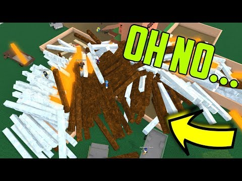 An Exploiter Did This... Roblox Lumber Tycoon 2