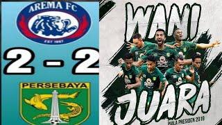 Download Ada yg aneh di pertandingan ini??? PERSEBAYA  2-2  AREMA FC - FINAL LEG 1 PIALA PRESIDEN 2019 Mp3 and Videos