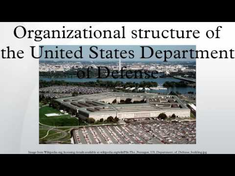 Organizational structure of the United States Department of Defense