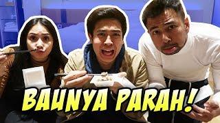 Cobain Makan Natto! Baunya Kaya Kaos Kaki! Ft  Raffi Ahmad, Rans Entertainment
