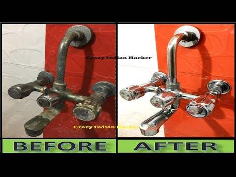 Without Soap, Chemicals, and Without Tap Clean Liquid, How to Clean Bathroom Tap At Home