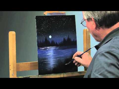 Paint-Along: How to Paint a Night Scene in Oils, Part 2