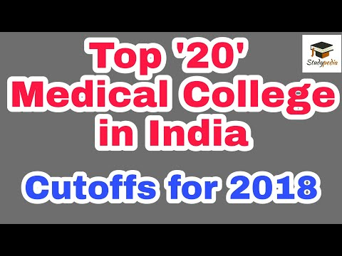 Top '20' Medical College in India | NEET 2018 | Aiims 2018 | jipmer 2018