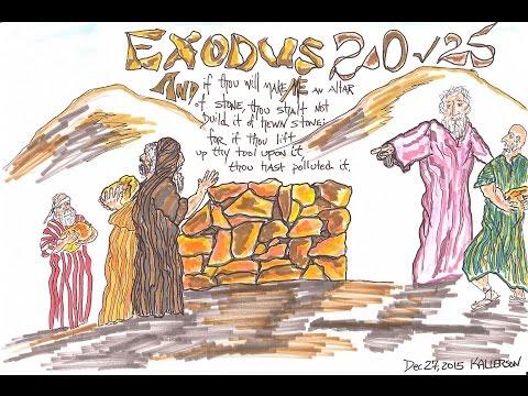 Exodus 20:18-26 (The Earthen Altar)