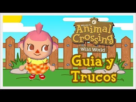 TRUCOS - HACHA DE ORO Y TODAS LAS FRUTAS | ANIMAL CROSSING WILD WORLD #06