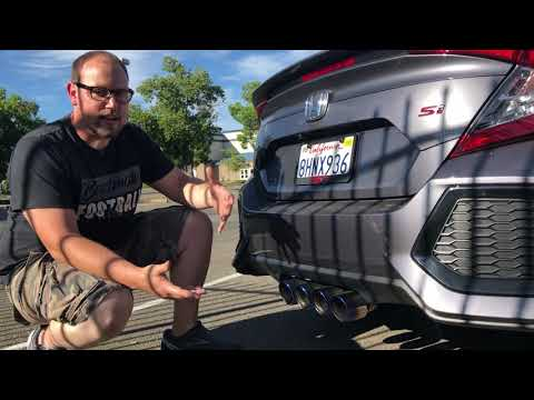 best exhaust for the honda civic si