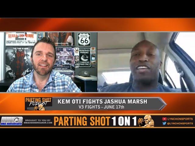 Former Football player Kem Oti talks V3 Heavyweight Title fight June 17th