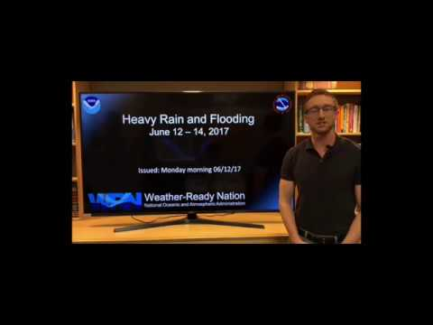 Heavy Rain and Flooding Outlook - 12 June 2017