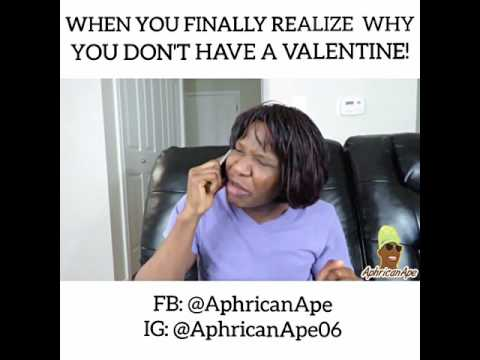 Video(skit): AphricanApe - When You Dont Have A Val