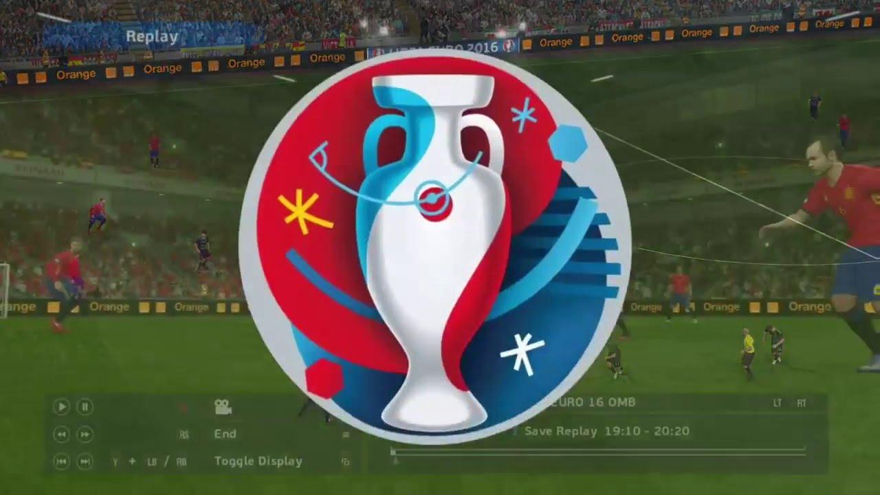 Pes Euro   Wales Vs Spain Semi Finals