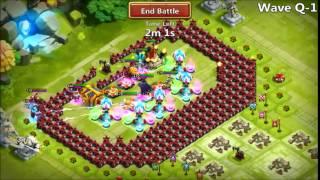 Castle Clash - Testing of Hyuga16 Forum Post Of Base 052815