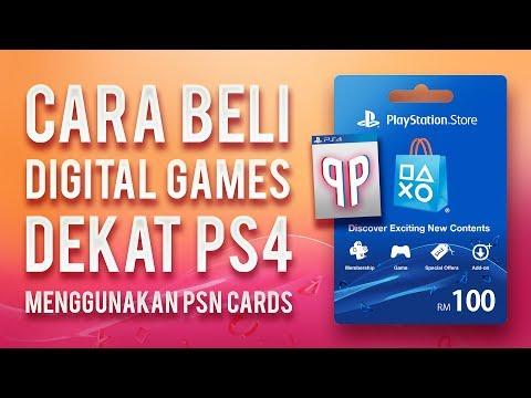 Cara Beli Digital Games Dekat PS4 (Malaysia) | PudhiPadhel